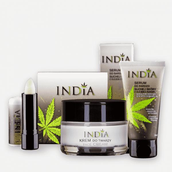 Coffret Cadeau cosmétique au chanvre India Cosmetics