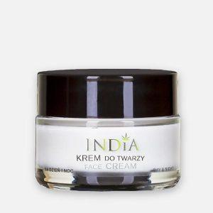 Cosmétique au chanvre Crème Visage jour et nuit India Cosmetics