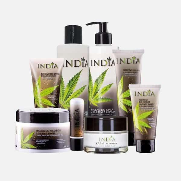 Cosmetique au chanvre Grand Coffret Cadeau India Cosmetics