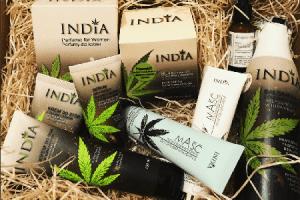 India cosmetics à base de chanvre