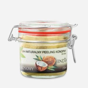 Cosmetique au chanvre peeling naturel noix de coco India Cosmetics