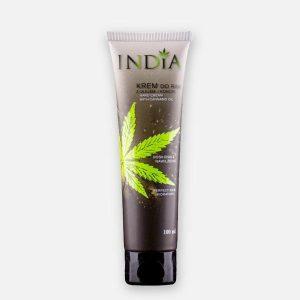 Cosmétique au chanvre Crème pour les mains India Cosmetics