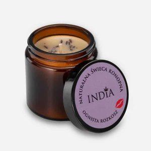 Cosmetique au chanvre bougiedélice du feu India Cosmetics